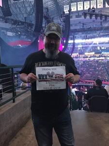 John attended P! Nk: Beautiful Trauma World Tour on May 2nd 2018 via VetTix