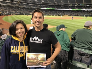 Steven attended Oakland Athletics vs. Baltimore Orioles - MLB on May 4th 2018 via VetTix