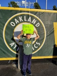 gerald attended Oakland Athletics vs. Baltimore Orioles - MLB on May 4th 2018 via VetTix