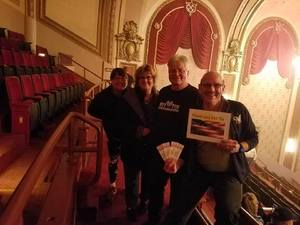 Chris attended Brit Floyd Eclipse World Tour 2018 '45 Years of the Dark Side of the Moon' on May 10th 2018 via VetTix