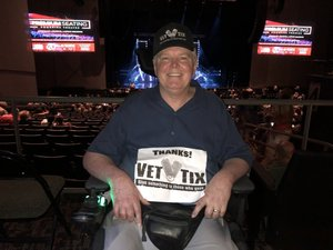 Monty attended Maks, Val and Peta Live on Tour: Confidential on May 4th 2018 via VetTix