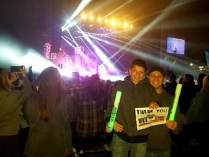 Christopher attended Channel 933 Summer Kickoff 2018 With the Chainsmokers, Ne-yo, Meghan Trainor and More. on May 11th 2018 via VetTix