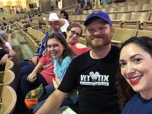 Danny attended Silver Spurs Arena/ Silver Spurs Rodeo on Jun 2nd 2018 via VetTix