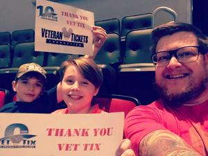 cory attended Jason Aldean High Noon Neon Tour on May 11th 2018 via VetTix