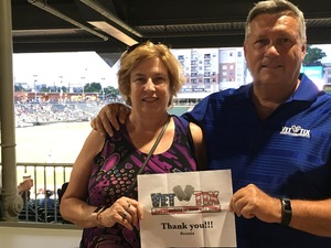 Mark attended Charlotte Knights vs. Syracuse Chiefs - MiLB on Jun 6th 2018 via VetTix