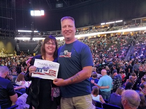 Kirk attended Chicago and Reo Speedwagon Live at the Pepsi Center on Jun 20th 2018 via VetTix