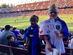 Click To Read More Feedback from San Jose Earthquakes vs. LA Galaxy - MLS - Military Blitz