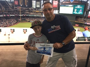 Louis attended Arizona Diamondbacks vs. San Francisco Giants - MLB on Aug 4th 2018 via VetTix
