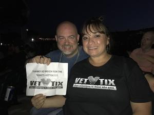 Leticia attended Chicago / Reo Speedwagon on Jun 29th 2018 via VetTix