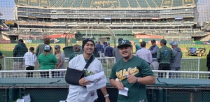 Jeffrey attended Oakland Athletics vs. Seattle Mariners - MLB on Aug 14th 2018 via VetTix
