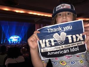 Amanda attended American Idol Live on Aug 14th 2018 via VetTix