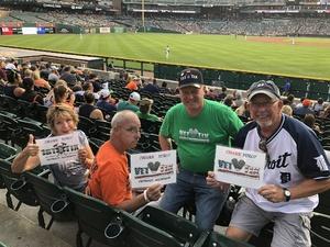 RodneyGammonRealtor.com attended Detroit Tigers vs. Chicago White Sox - MLB on Aug 14th 2018 via VetTix