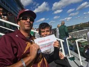 Click To Read More Feedback from Michigan State Spartans vs. Central Michigan Chippewas - NCAA Football