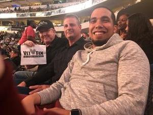 William attended UFC 228 - Mixed Martial Arts on Sep 8th 2018 via VetTix