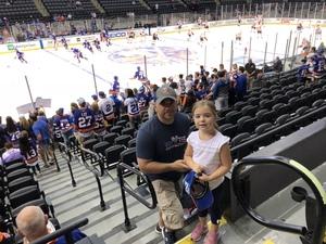 Sergio attended New York Islanders vs. Philadelphia Flyers - NHL on Sep 16th 2018 via VetTix