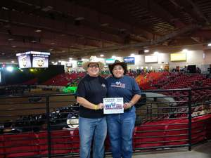 Denise attended PBR Real Time Pain Relief Velocity Finals - Saturday on Nov 3rd 2018 via VetTix