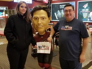 M.Hernandez attended Arizona Coyotes vs. Buffalo Sabres - NHL on Oct 13th 2018 via VetTix