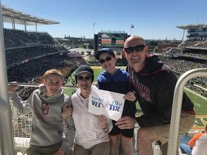 Donald attended Baylor vs. Oklahoma State - NCAA Football on Nov 3rd 2018 via VetTix