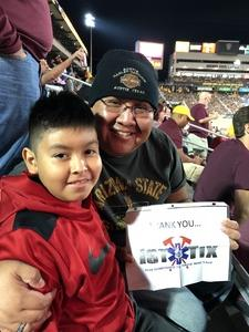 Click To Read More Feedback from Arizona State Sun Devils vs. Stanford - NCAA Football