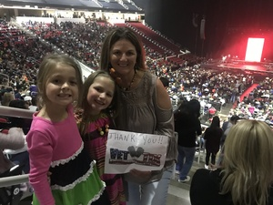 Natalie attended Elevation Worship - Hallelujah Here Below Tour on Oct 23rd 2018 via VetTix