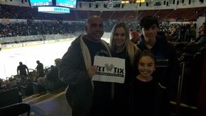 Eric attended San Diego Gulls vs. Colorado Eagles - AHL on Nov 10th 2018 via VetTix