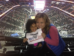 Mia attended Washington Wizards vs. Orlando Magic - NBA on Nov 12th 2018 via VetTix