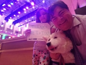James attended Holiday Pops - Presented by National Philharmonic on Dec 7th 2018 via VetTix