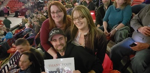 Joshua attended Red Rock Productions Presents: STYX With Special Guest Anne Wilson of Heart Resch Center Complex 2018-2019 on Dec 29th 2018 via VetTix