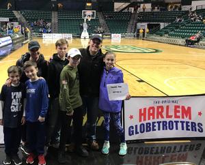 Michael attended Harlem Globetrotters on Dec 31st 2018 via VetTix