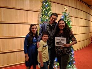 Christine attended A Christmas Carol on Dec 20th 2018 via VetTix