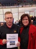 Steve attended Chicago Wolves vs. Lake Erie Monsters - AHL on Apr 1st 2016 via VetTix
