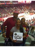 Le Royse attended U.s.c. Trojans vs. Washington - NCAA Men's Basketball on Jan 30th 2016 via VetTix