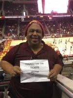 Charles attended U.s.c. Trojans vs. Washington - NCAA Men's Basketball on Jan 30th 2016 via VetTix