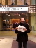 Brian attended Comedian Rodney Carrington at City National Grove of Anaheim on Jan 31st 2016 via VetTix