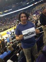 David attended Phoenix Suns vs. Oklahoma City Thunder - NBA on Feb 8th 2016 via VetTix