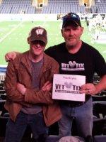 Richard attended Texas Revolution vs. Mesquite Marshalls - Cif on Mar 19th 2016 via VetTix