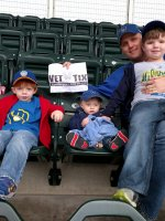 Click To Read More Feedback from Minnesota Twins vs. Milwaukee Brewers - MLB - Afternoon Game