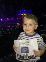 Amanda attended Circus Extreme Presented by Ringling Bros and Barnum and Bailey - Verizon Center on Mar 31st 2016 via VetTix