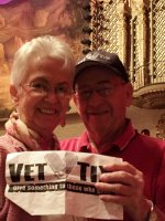 Thomas attended Today's Masters - Saturday Matinee on Mar 26th 2016 via VetTix