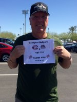 Richard and Milt attended Cincinnati Reds vs. Colorado Rockies - MLB Spring Training on Mar 25th 2016 via VetTix