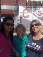 Delaina attended Cincinnati Reds vs. Colorado Rockies - MLB Spring Training on Mar 25th 2016 via VetTix