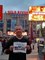 Richard attended Arizona Coyotes vs. Calgary Flames - NHL on Mar 28th 2016 via VetTix