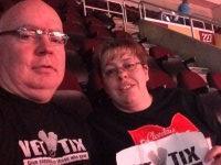 Calvin attended Cleveland Gladiators vs. Philadelphia Soul - AFL on Apr 1st 2016 via VetTix
