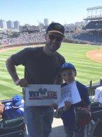 Steve attended Chicago Cubs vs. Colorado Rockies - MLB on Apr 16th 2016 via VetTix