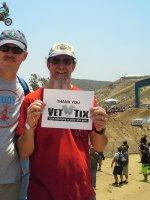 Doug Z attended Lucas Oil Pro Motocross Championship - Glen Helen on May 28th 2016 via VetTix