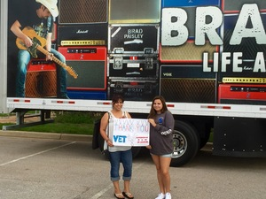 Click To Read More Feedback from Brad Paisley - Life Amplified World Tour With Special Guests Tyler Farr and Maddie and Tae