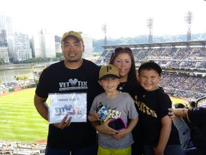 Click To Read More Feedback from Pittsburgh Pirates vs. Cincinnati Reds - MLB