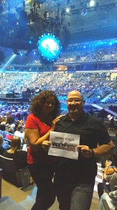 Leonard D attended Carrie Underwood - the Storyteller Tour- Stories in the Round With Special Guest Easton Corbin and the Swon Brothers on Oct 5th 2016 via VetTix