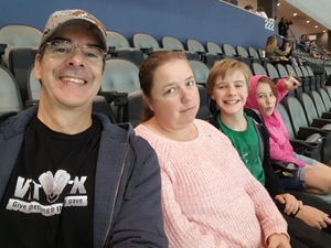 Click To Read More Feedback from Tucson Roadrunners vs. Ontario Reign - AHL - Military Appreciation Night