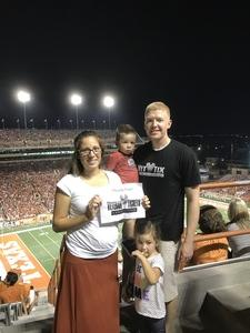 Click To Read More Feedback from University of Texas Longhorns vs. Iowa State - NCAA Football